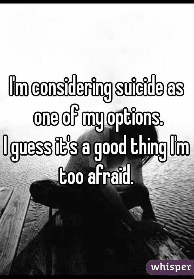 Image result for i'M THE GOOD SUICIDAL ONE