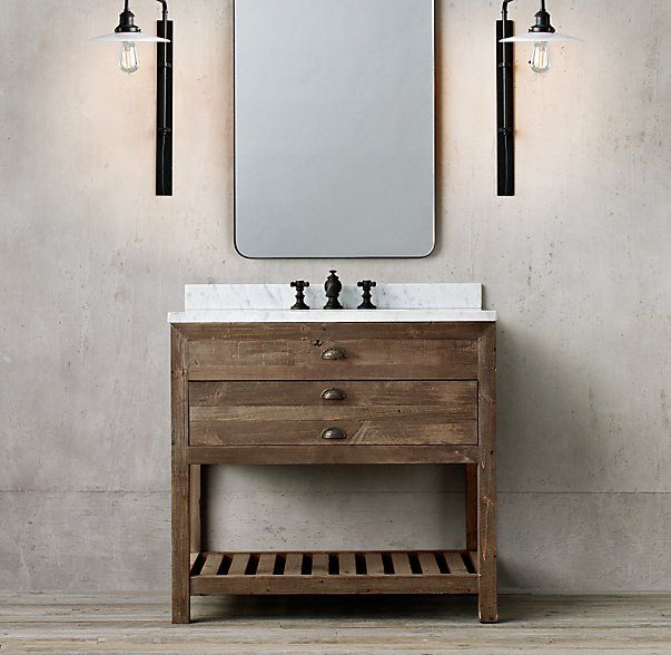 Printmaker S Single Washstand Master Bath In 2019
