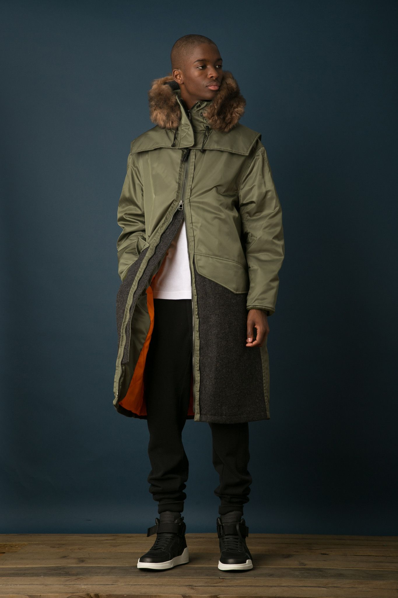 Oversized Flight Parka | Style men, Men's fashion and Fashion