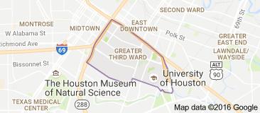 Map Of Third Ward Houston Houston Re In 2019 Map Houston H Town