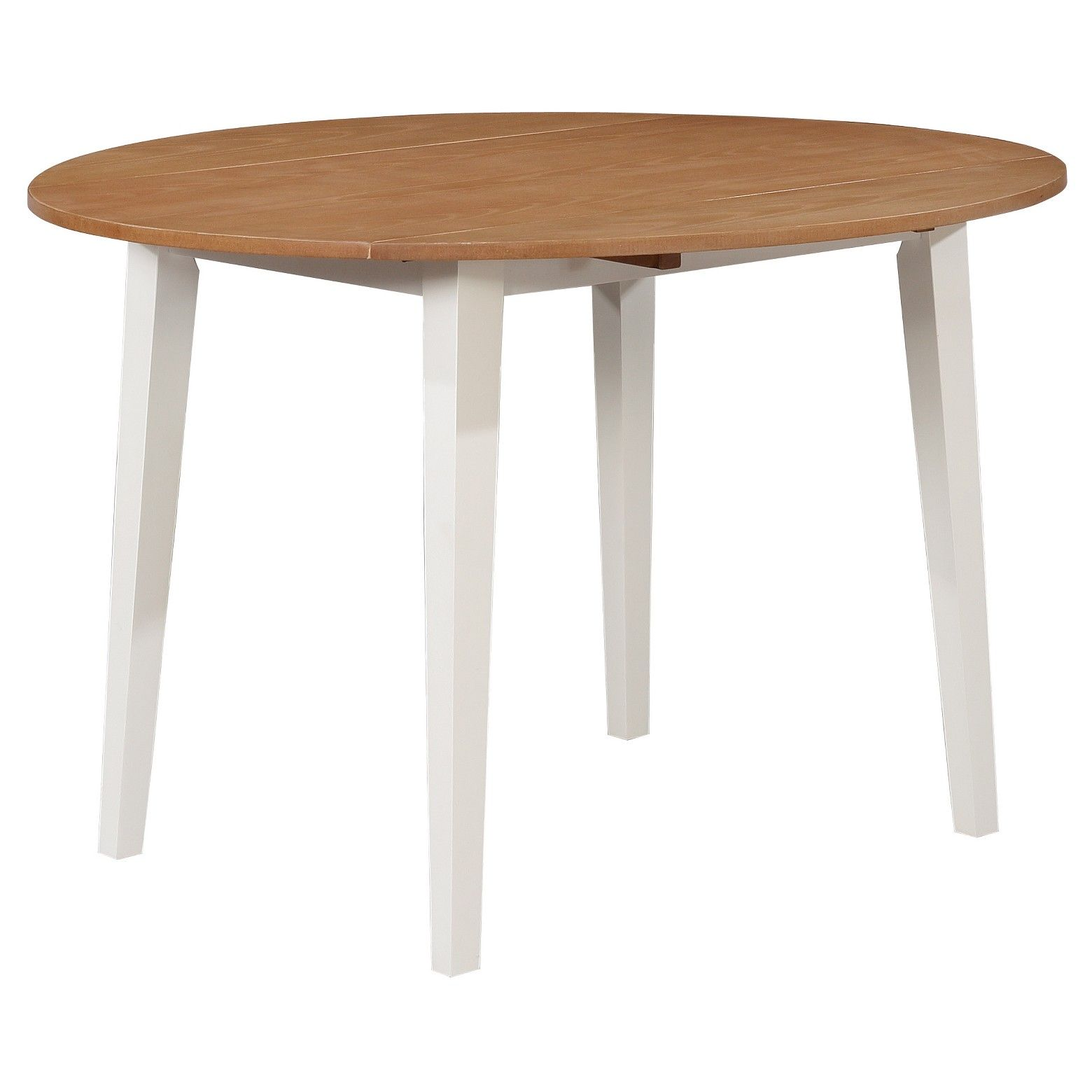 The Sweet Carey 44 Round Drop Leaf Table Threshold Fits A Small