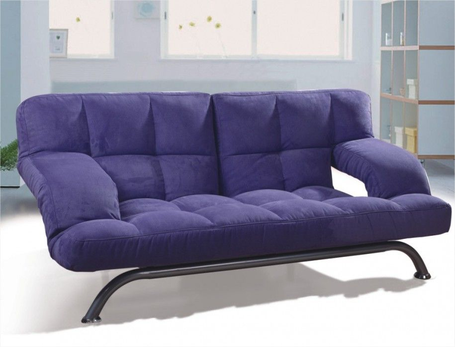Furniture, Spectacular Purple Sofas Furniture Ideas For Small Living Rooms  Folding Blue Uplhostered Sofas Space Saving Furniture With Metal Legs Design  ...
