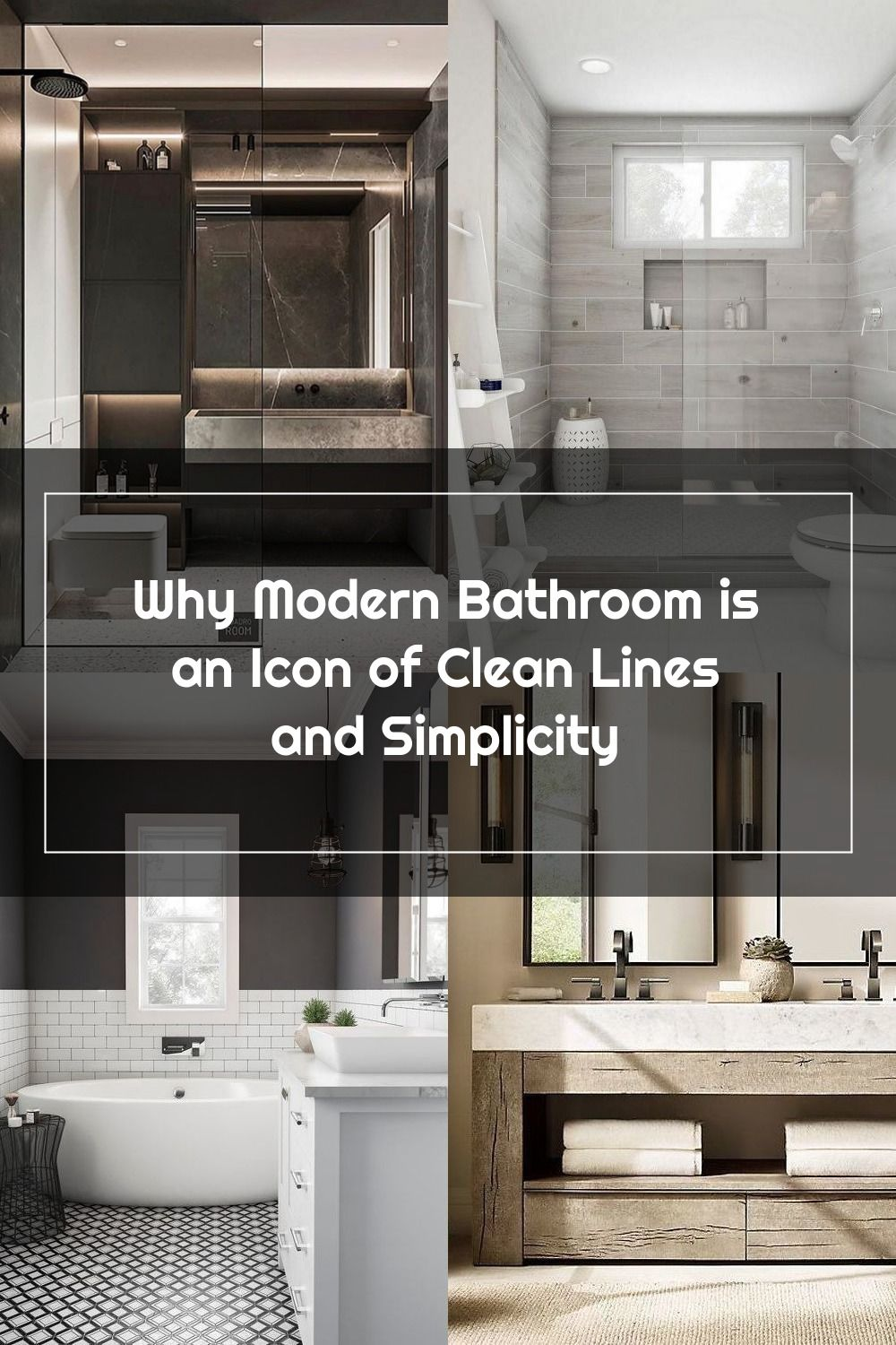 To Keep With The Modern Bathroom Style We Re Going For Pick Examples Of These Items In Keeping With The S In 2020 Modern Style Bathroom Bathroom Style Modern Bathroom