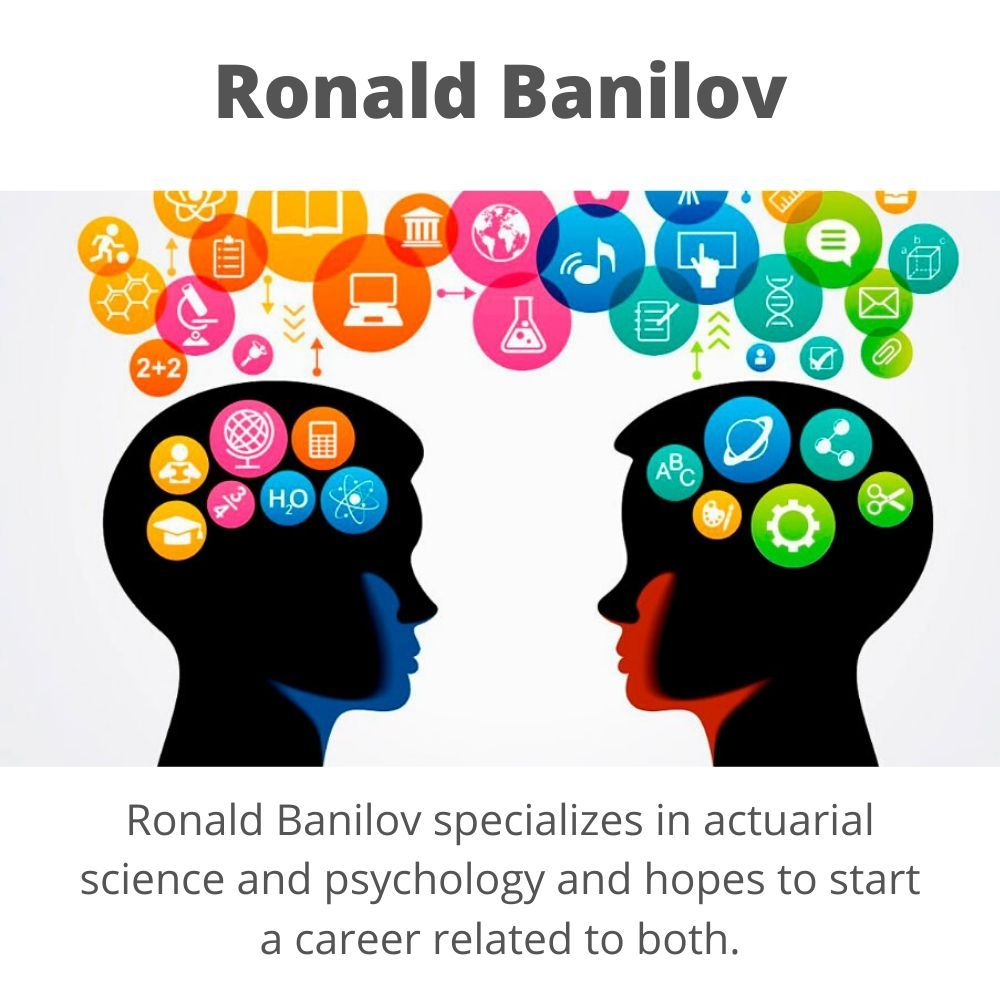 Ronald Banilov Interested in Psychology Industry in 2020