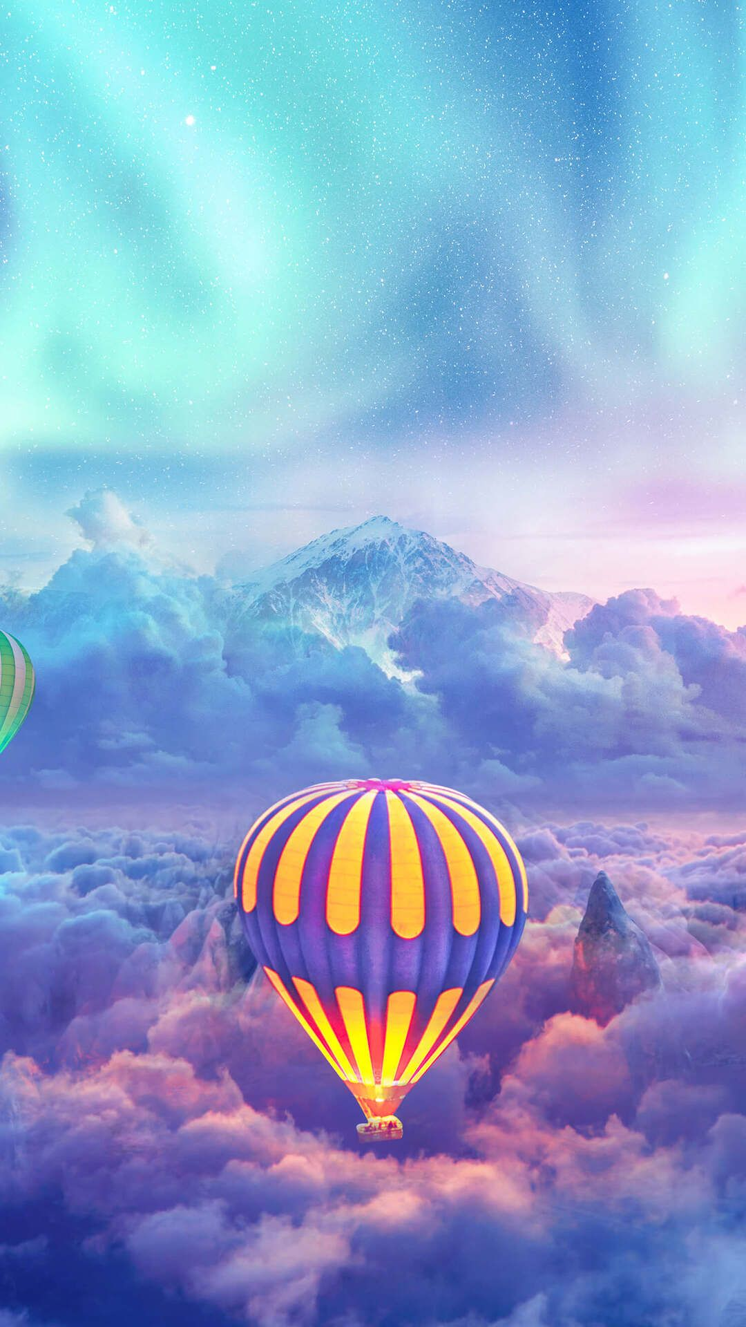 Hot Air Balloons Creative Photography In 1080x1920