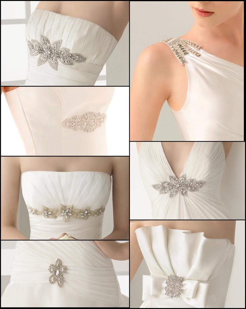Los cinturones y broches de Rosa Clará | Ideas de la boda ...