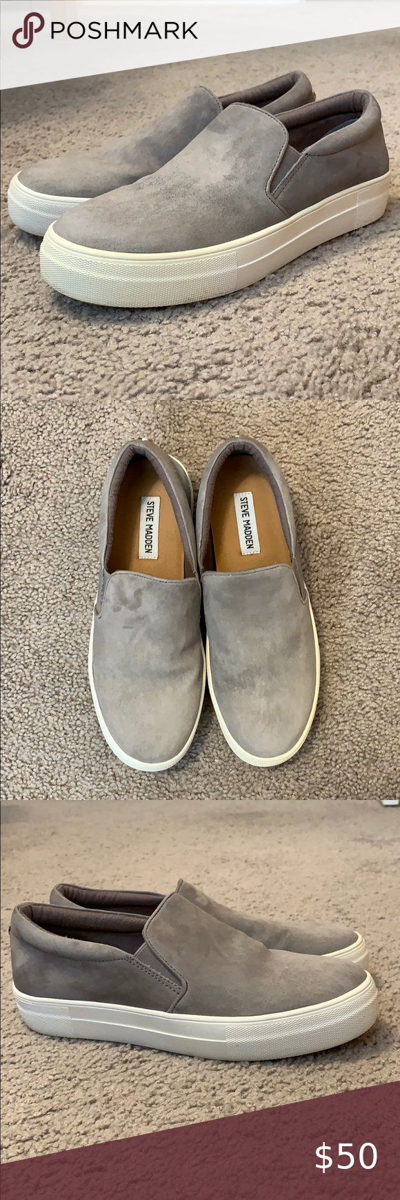 Steve Madden Suede Thick Bottom