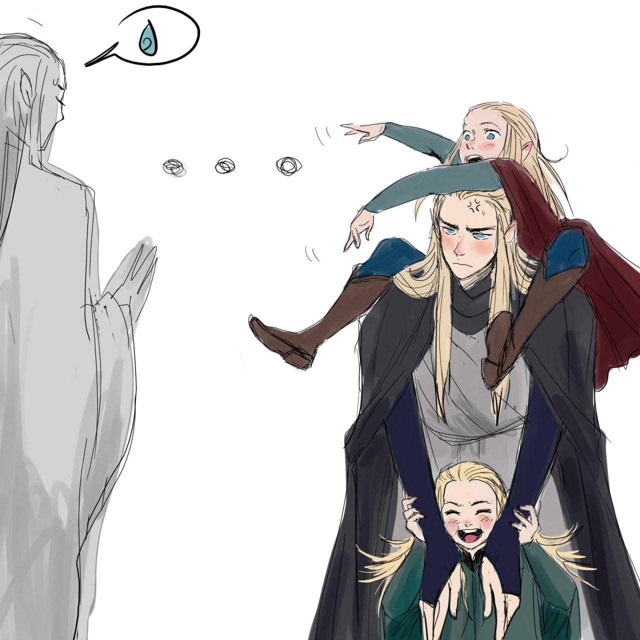 anime haldir - Google Search | Lord of the Rings (Era Characters ...