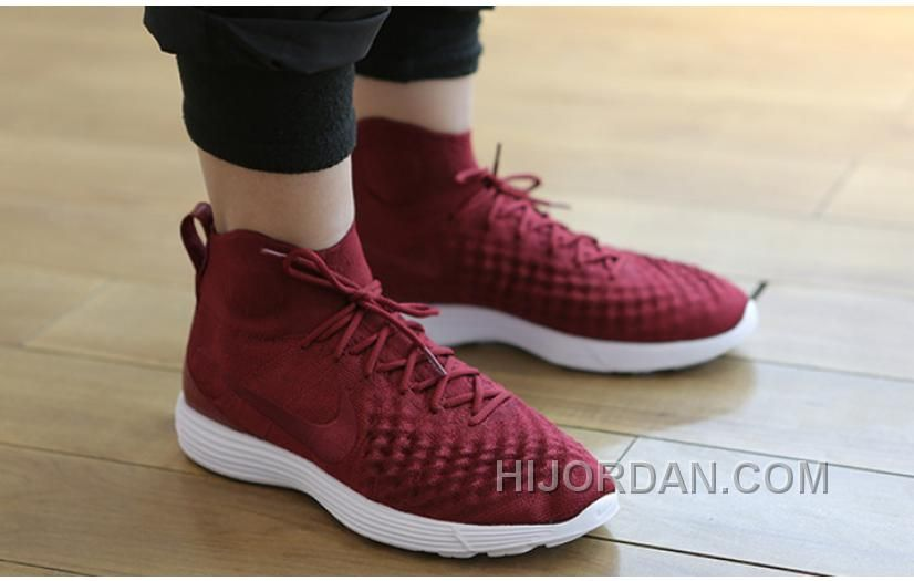 6fbb3b91b28b Buy Nike Lunar Magista II Flyknit Red White New Release from Reliable Nike  Lunar Magista II Flyknit Red White New Release suppliers.