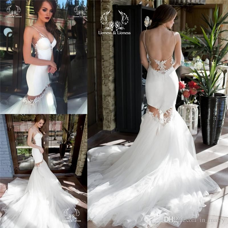 New Designer Detachable Skirt Mermaid Wedding Dresses 2016 Vintage ...