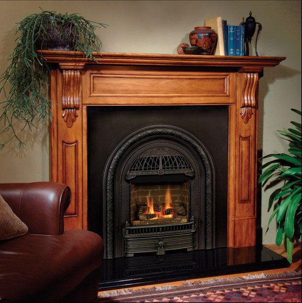 The Windsor Is A Victorian Style Gas Insert Designed To