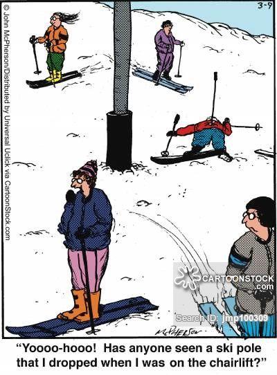 Skiing cartoons, Skiing cartoon, funny, Skiing picture