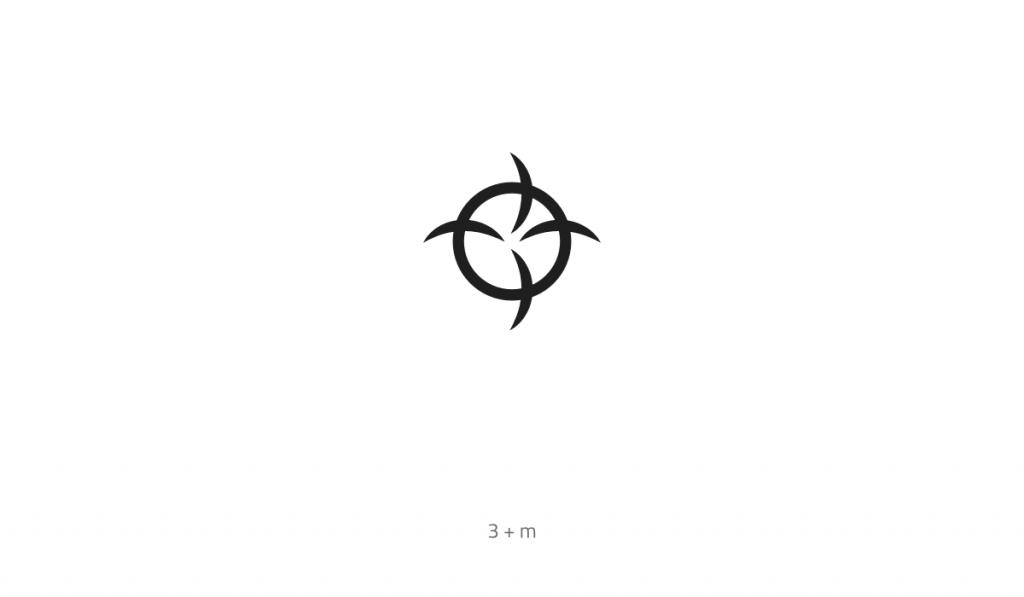 3m Monogram Logo Design Monogram Logo Design Logo Design Monogram Logo