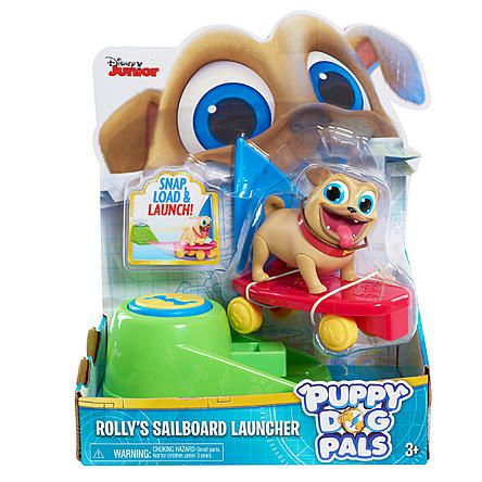 Disney Junior Puppy Dog Pals Figures On The Go Rolly Kmart