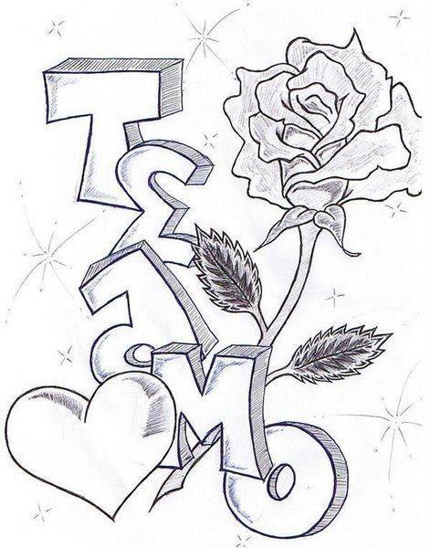 Te amo dibujo papel para que me le pongas color si!!! … | amor en 2018…
