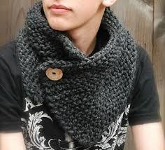 tricoter une echarpe tube homme