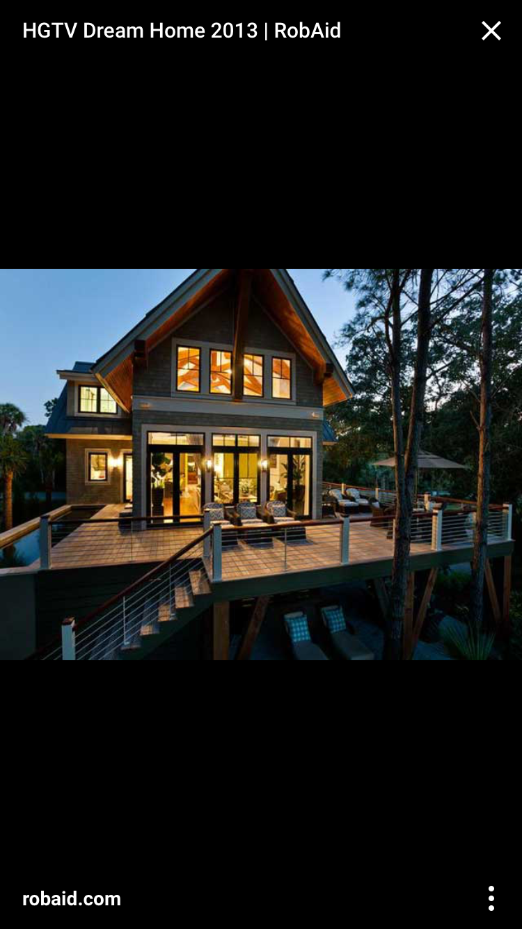 Pin by Bridget Bass on Fresh Air Hgtv dream homes, Lake