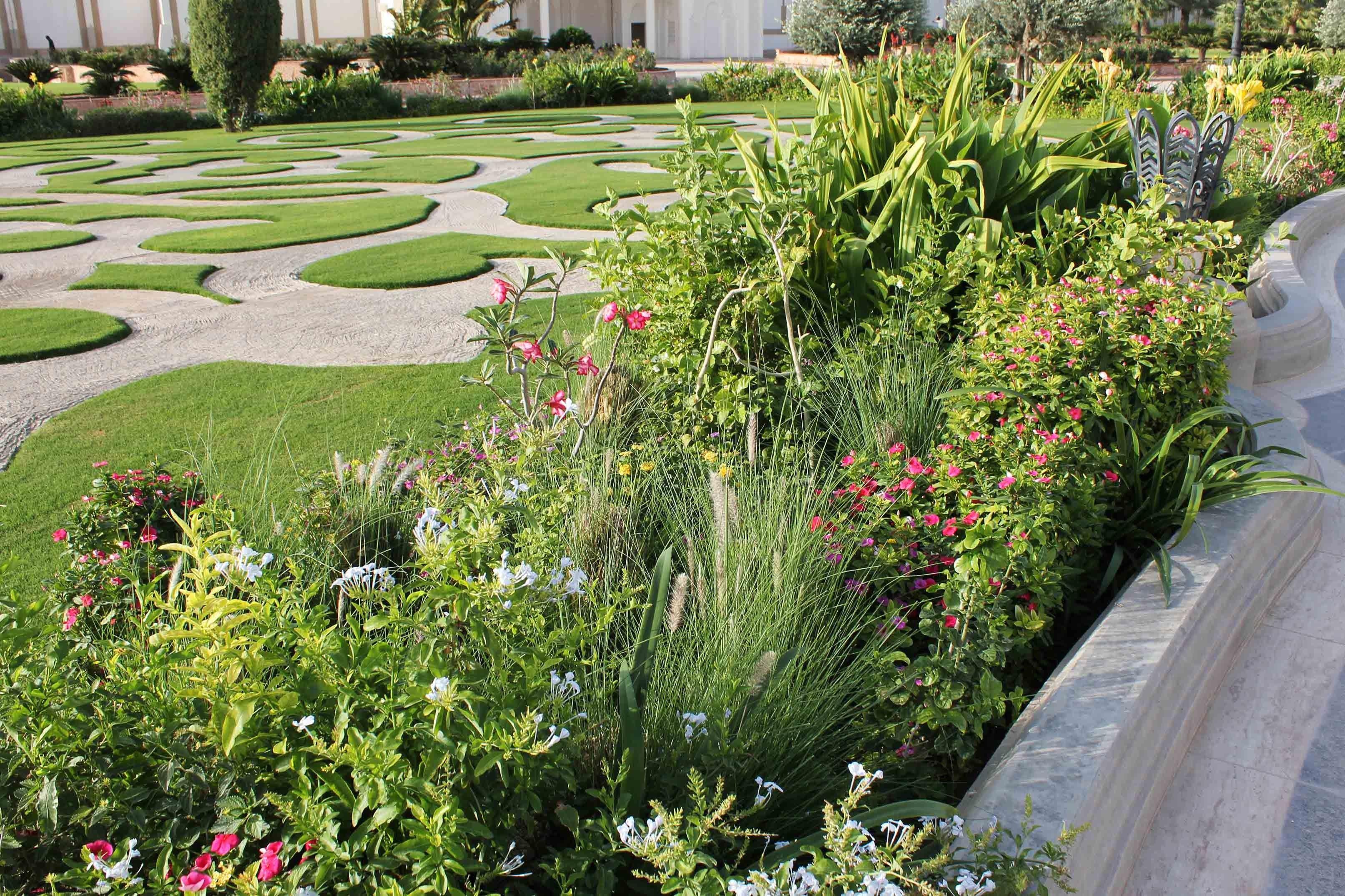 Qatar Green Vegetable Garden Garden Design Beautiful Gardens Easy Garden