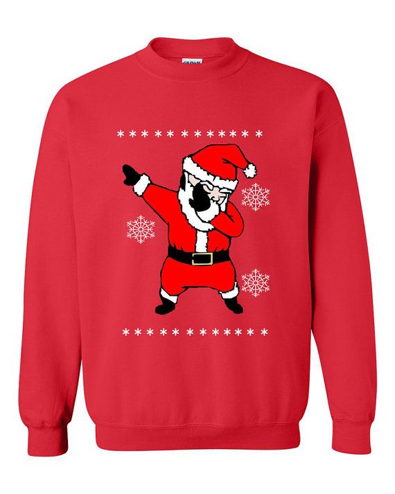 Dabbing Santa Claus Dab Dance Ugly Christmas by CheaperChoice ...