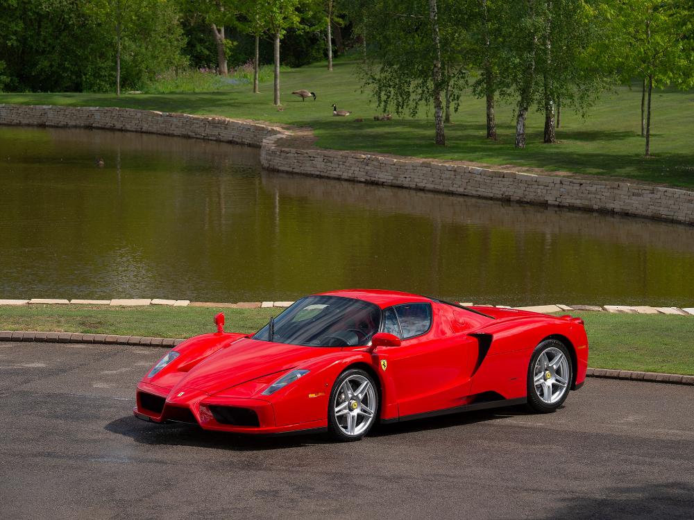 This Is The Second Ferrari Enzo Ever Built And It S For Sale Carscoops Ferrari Enzo Ferrari Ferrari Racing