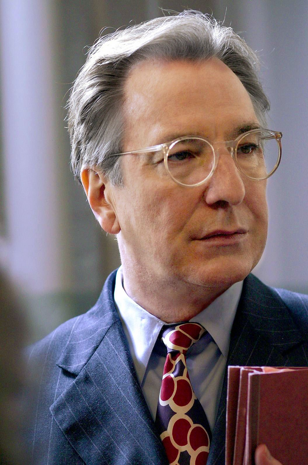 Alan Rickman as Alfred Blalock \u0027Something the Lord Made\u0027 | Alan ...