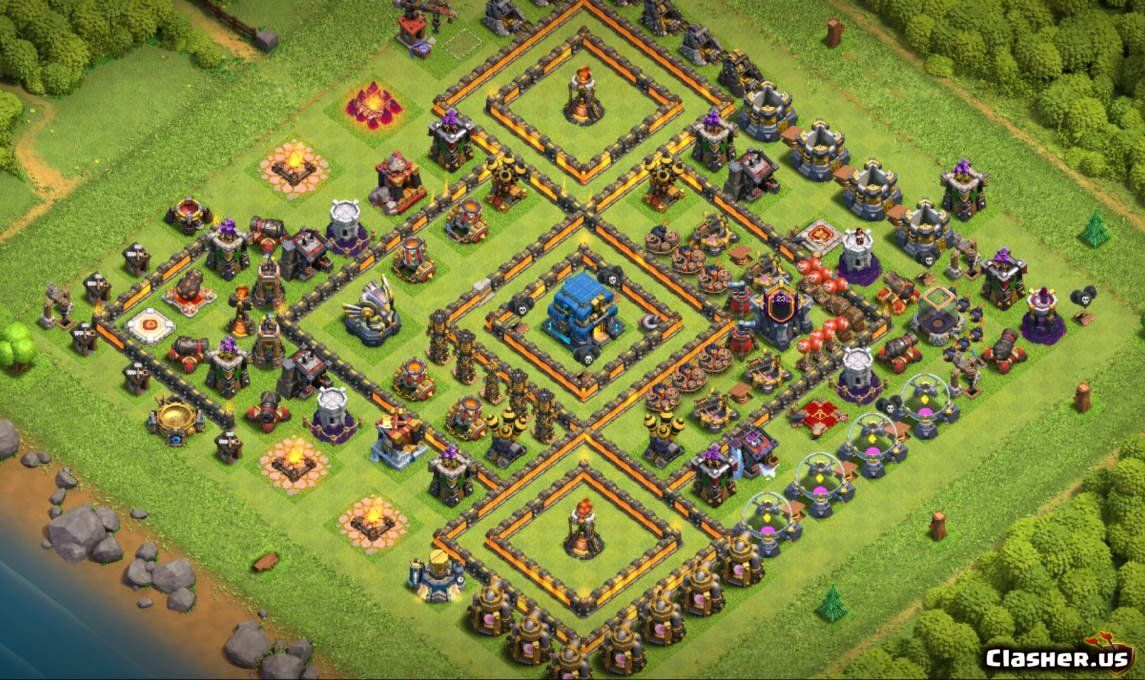 Best Th12 War Base 2020 With Link