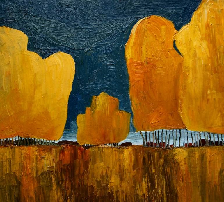 "Saatchi Art Artist Justyna Kopania; Painting, ""Sold"" #art"