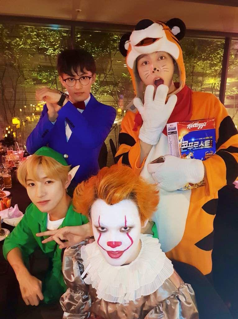 Nct 2020 Halloween nct halloween in 2020 | Nct chenle, Nct, Nct johnny