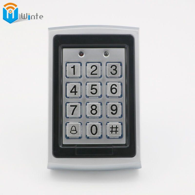 RFID Reader Proximity Card Access Control Keypad Metal 125kHz Waterproof