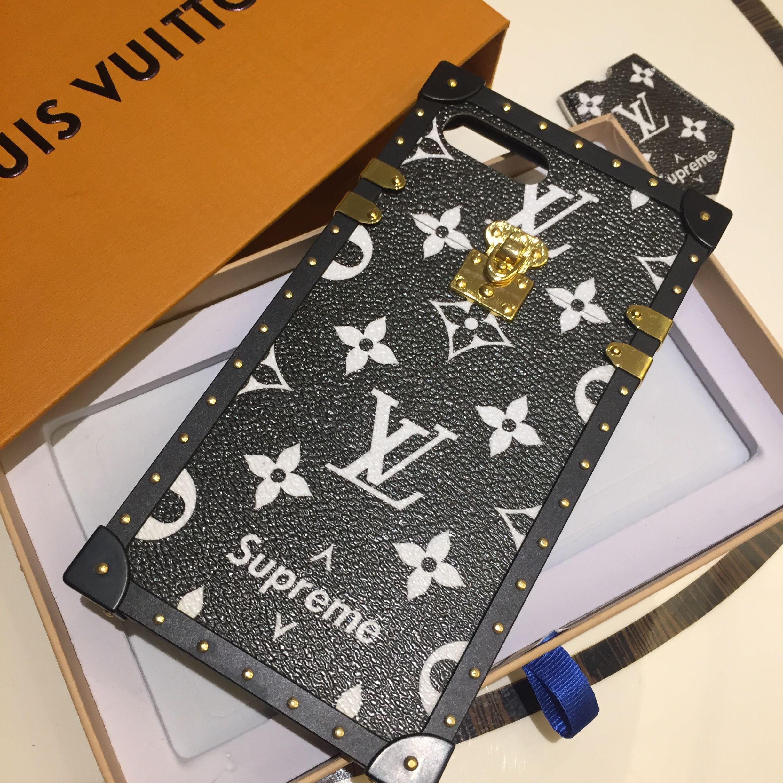 Louis vuitton lv supreme iphone case louis vuitton phone