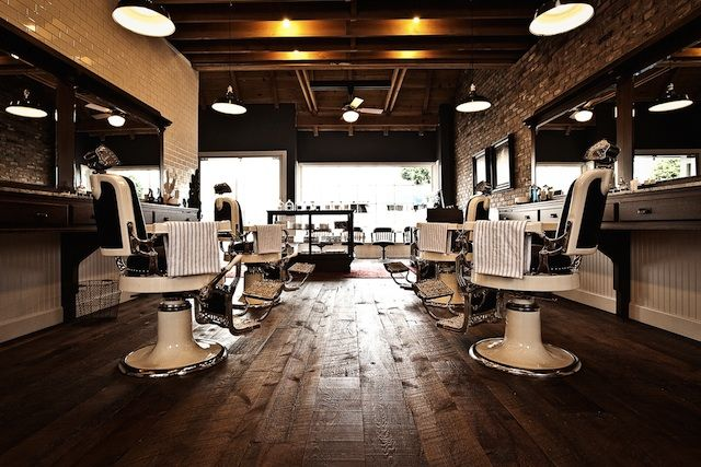 luxury barber shop google search barbershop designbarbershop ideassalon