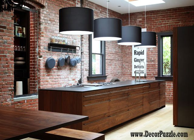 Industrial Style Lighting For A Kitchen