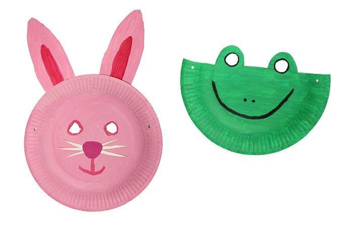 Pappteller Tiermasken Pdf Pappteller Masken Masken Basteln Und Faschingsmasken Pappteller