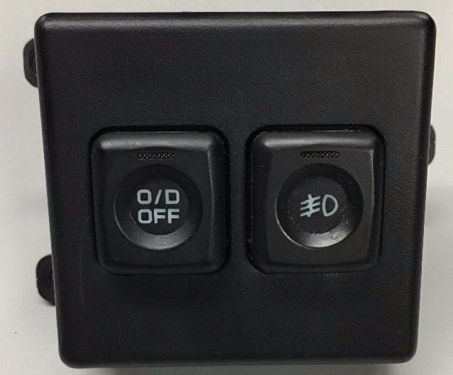 94 95 96 97 Dodge Ram 1500 2500 3500 Overdrive O D And Fog Lights Dash Switch Mopar