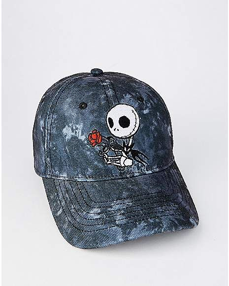 Tie Dye Jack Skellington Dad Hat - The Nightmare Before Christmas -  Spencer s e9bca70145e