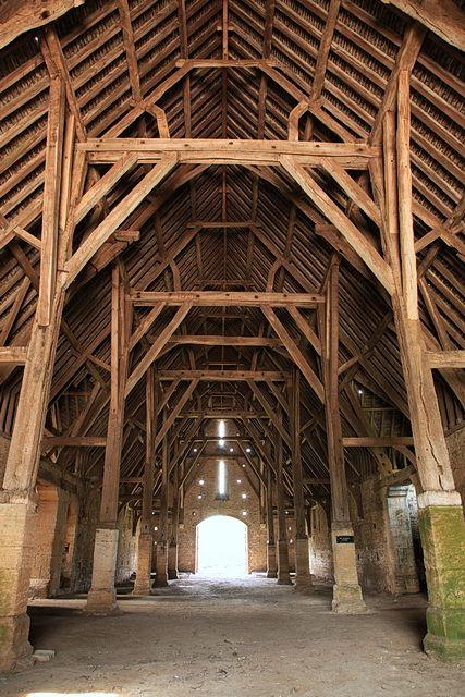 Interior Great Coxwell Barn © Rob Noble