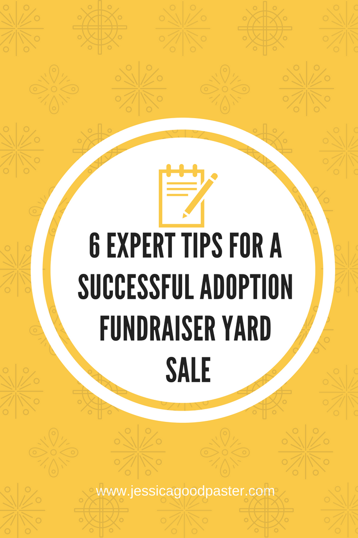 20 Expert Tips for a Successful Adoption Fundraiser Yard Sale ...