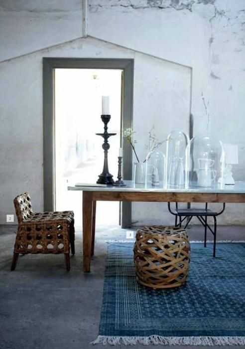 The Perfect Wicker Accent Pieces To A Rustic Farm Table