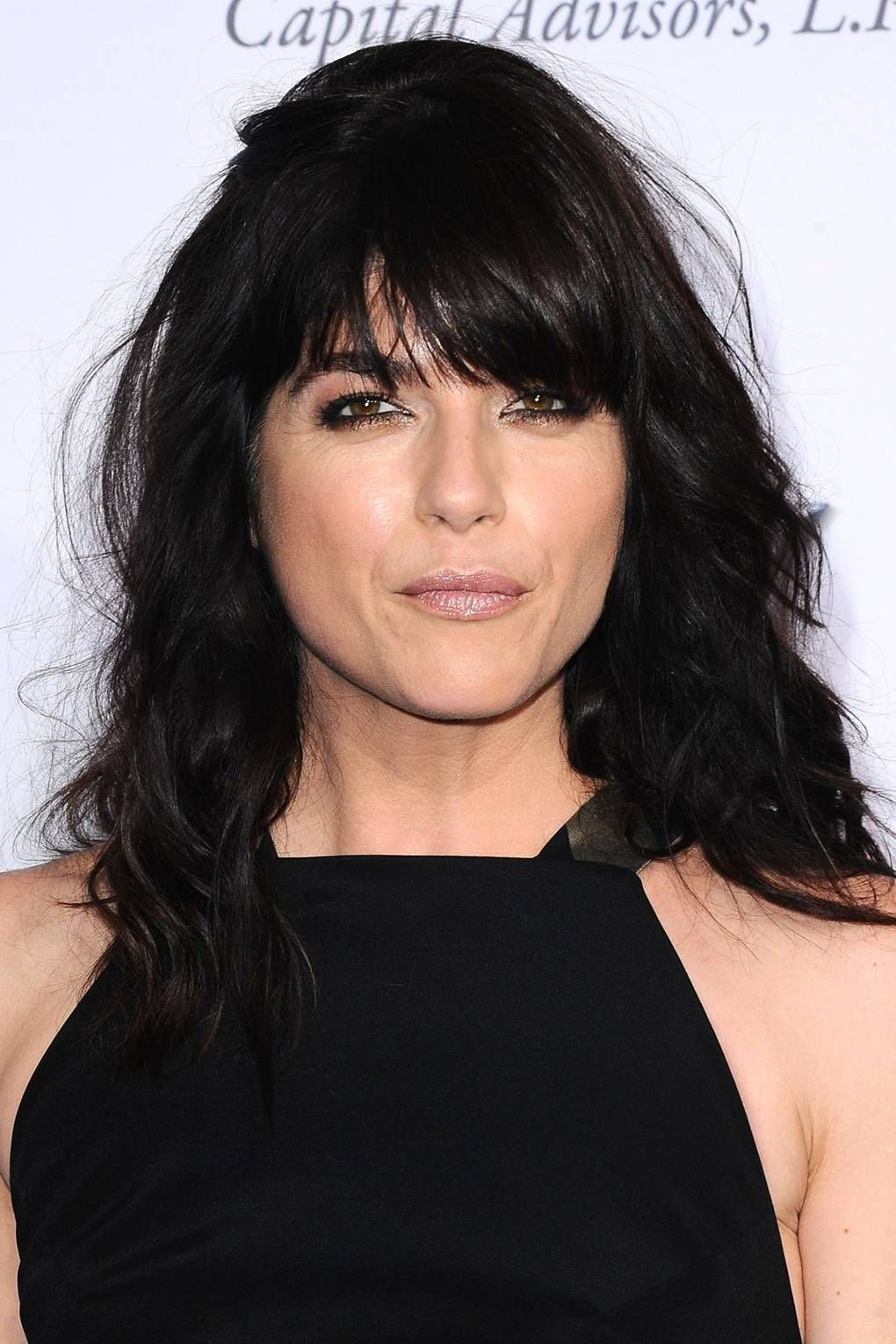 Best hairstyle and color for me fringe bangs hairstyles