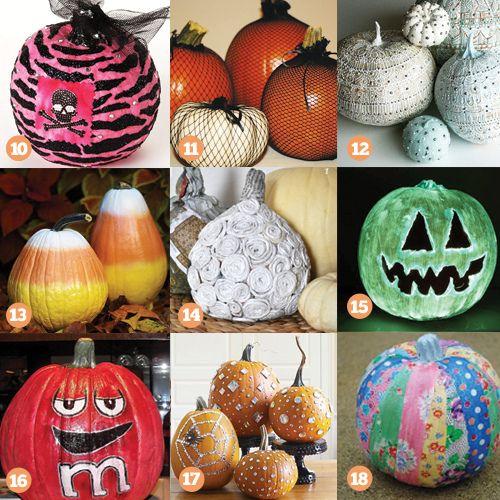 pumpkin decorating painted pumpkin decorating ideas - Pumpkin Decorating Ideas