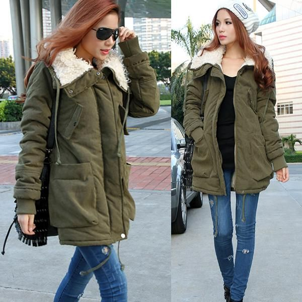Kurtka Parka Pikowana Jesien Jesienna Zara Damska Long Fleece Coat Trench Coats Women Fleece Coat