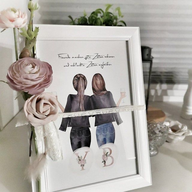 Best Friend | Best Friend Gift | Best Friend Picture | Best Friend Birthday | Best Friends | Best Friends | Poster
