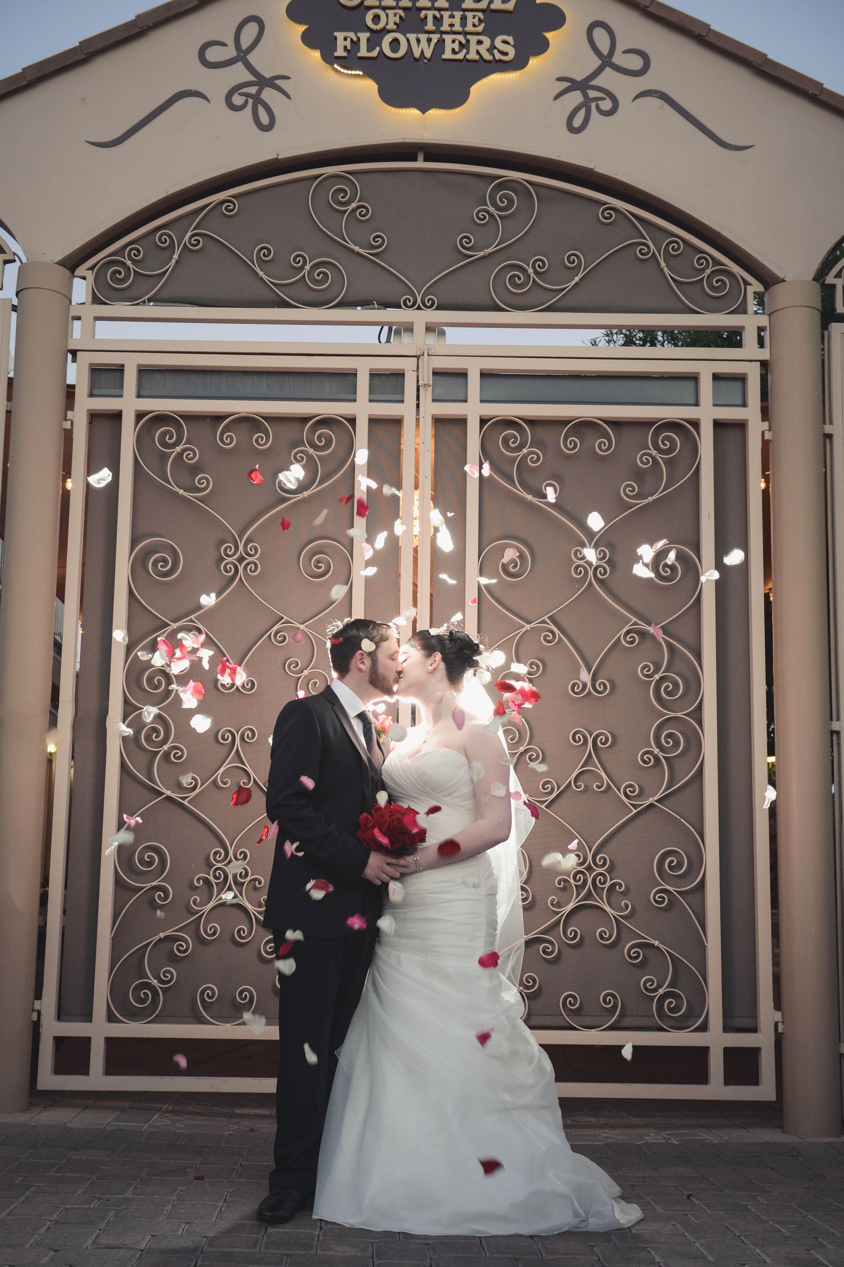 Chapel Of The Flowers Gl Gardens Las Vegas Wedding Outdoor