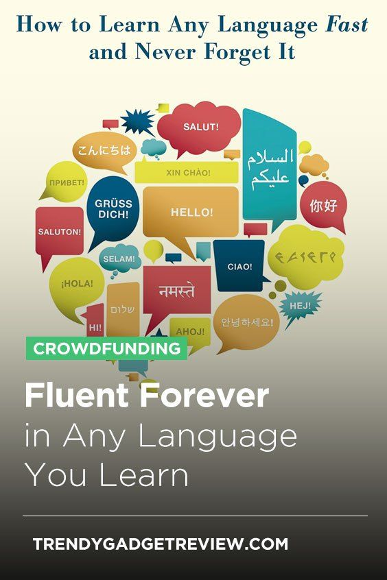 Fluent Forever in Any Language You Learn Learning