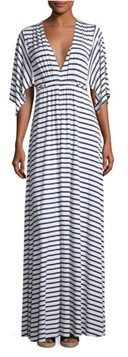 Cute striped maxi dress