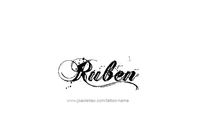 Ruben Name Tattoo Designs Name Tattoos Name Tattoo Tattoos
