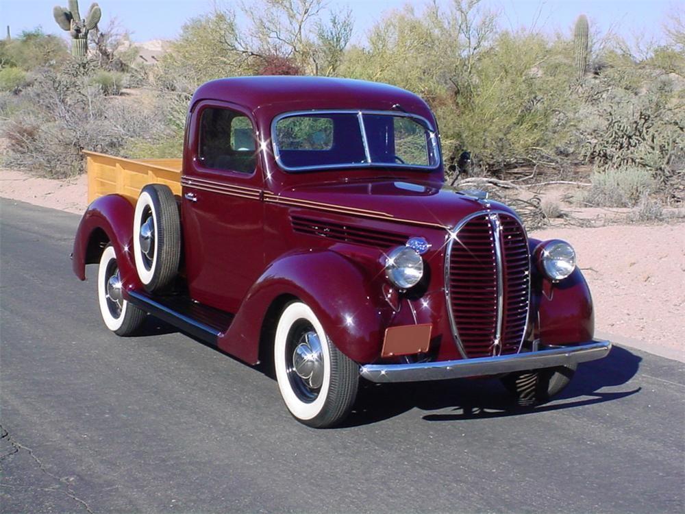 1938 Ford Custom Pickup Barrett Jackson Auction Company