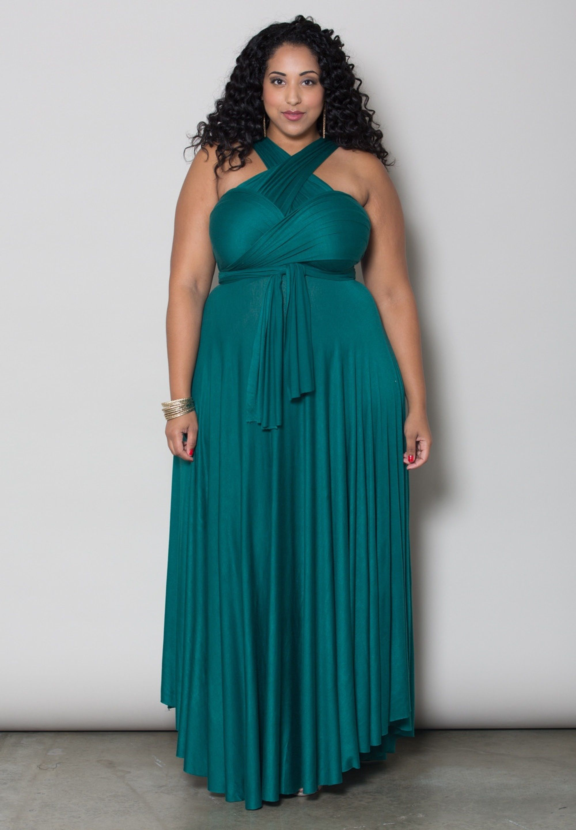 b6434591623 plus-size-fashion Plus Size Eternity Maxi Convertible Dress -  SWAKdesigns.com - green 9   1X 3X   Free Returns - 16