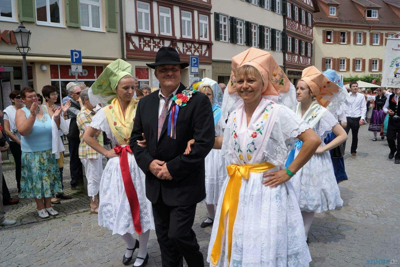 Trachtenfest Öhringen 2016 Großer Umzug,  Deutsch- Sorbisches Ensemble Cottbus