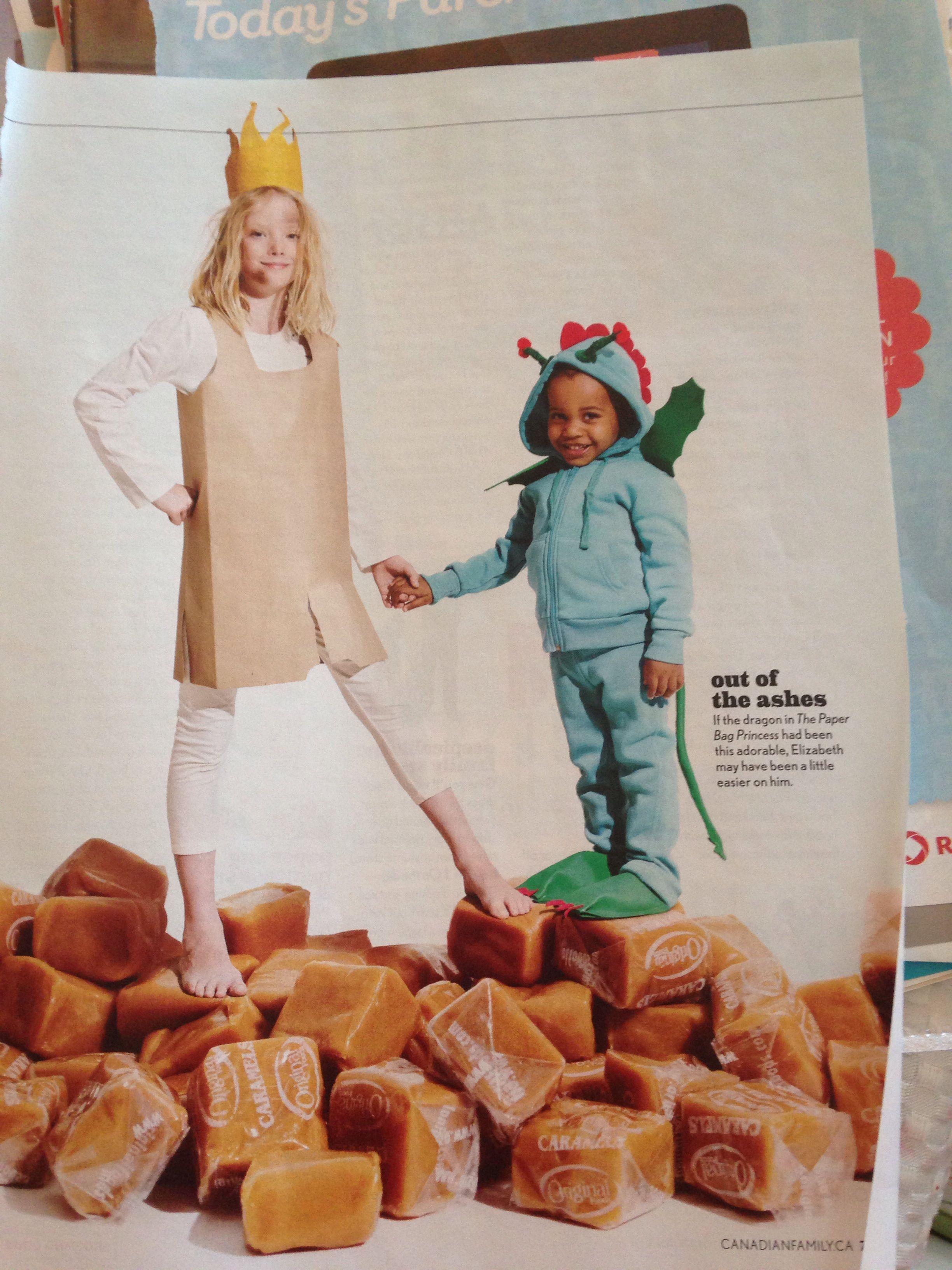 Today's parent paper bag princess costume #paperbagprincesscostume Today's parent paper bag princess costume #paperbagprincesscostume